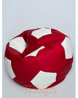 Кресло-мяч - Красно-белый