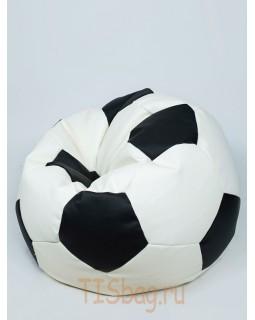 Кресло-мяч - Бело-черный