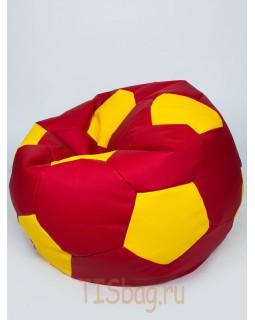 Кресло-мяч - Красно-желтый
