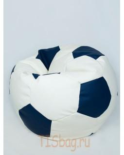 Кресло-мяч - Бело-синий