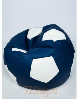 Кресло-мяч - Сине-белый