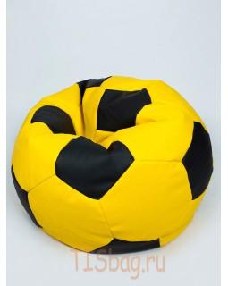 Кресло-мяч - Желто-черный
